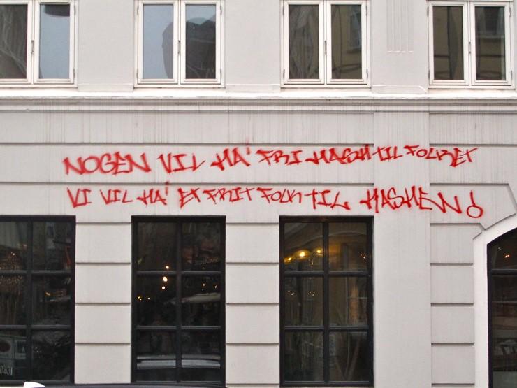 Nogen vil ha' fri hash til folket. Vi vil ha' et frit folk til hashen!