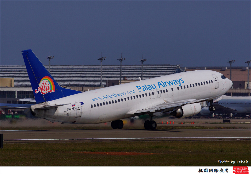 Palau Airways OM-AEX客機009