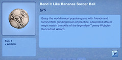 Bend it Like Bananas Soccer Ball