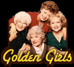 The Golden Girls tv show logo