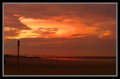 Sunset over Portsea Victoria-1=