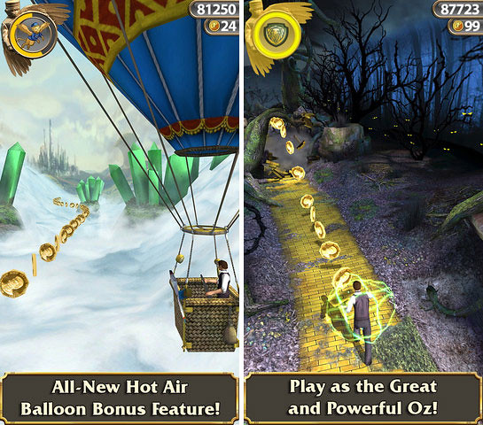 "Temple Run: Oz"" Now Available For iOS [Video]"