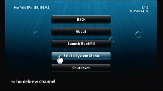 Wii 4 3J TheHomeBrewChannel 導入方法(LetterBomb) - ネオスの