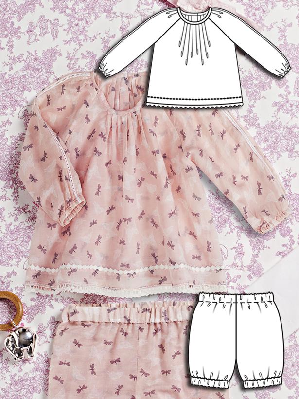 Nautical Baby: 9 New Baby Sewing Patterns – Sewing Blog | BurdaStyle.com