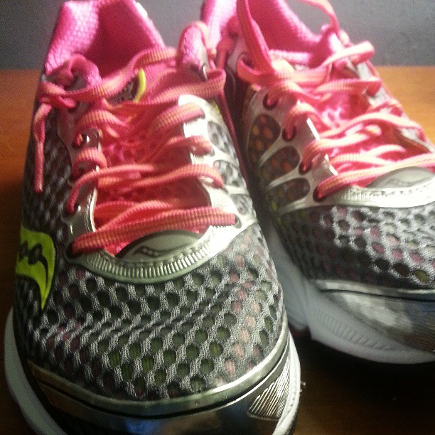 New sneaks. 3 miles on them so far. Heading out to add a few more.