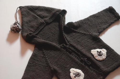 little bear cardigan