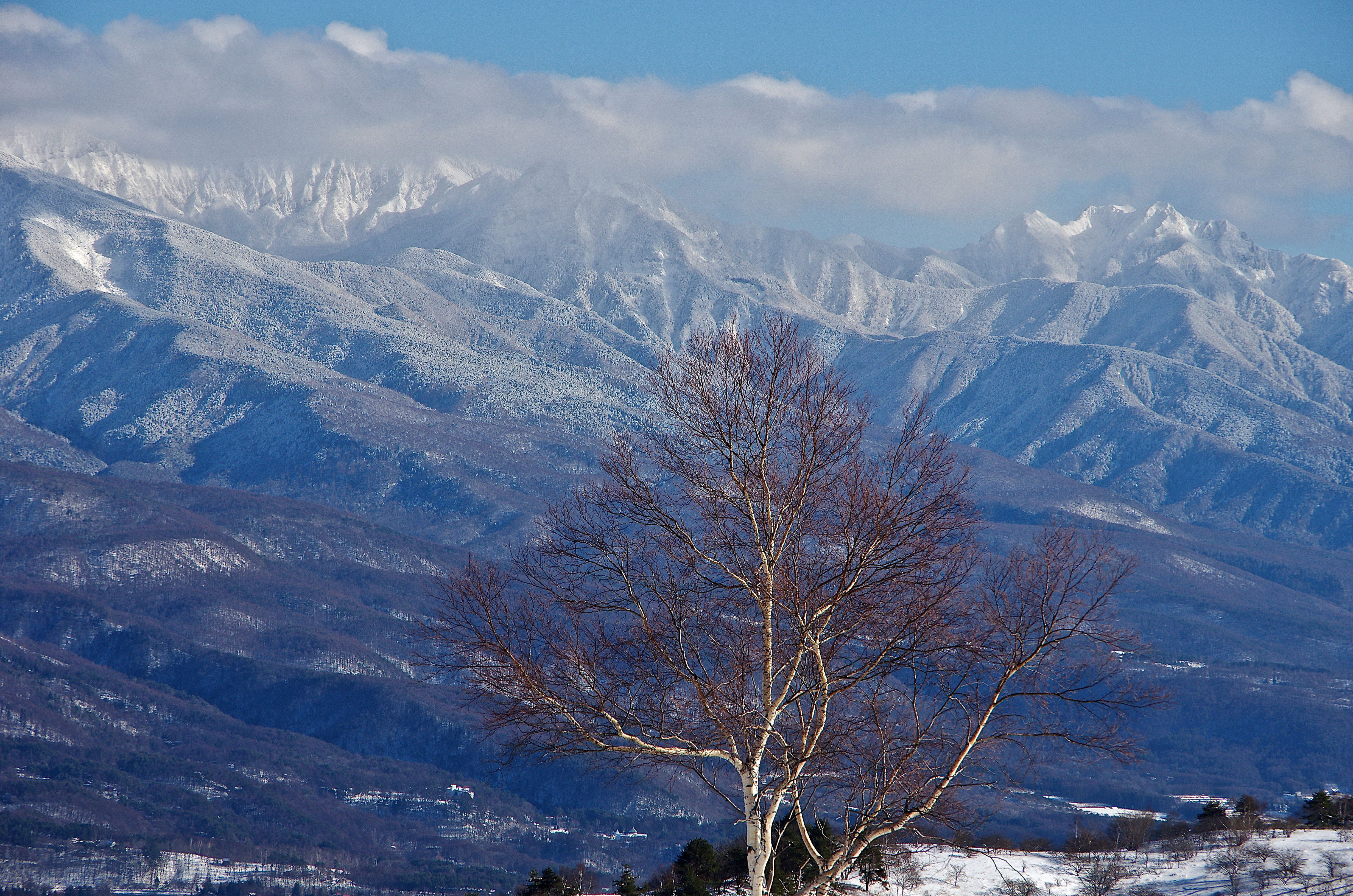 Elevation Of Hara Suwa District Nagano Prefecture Japan