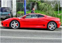 automobile(1.0), wheel(1.0), vehicle(1.0), performance car(1.0), automotive design(1.0), ferrari f430(1.0), ferrari 360(1.0), land vehicle(1.0), luxury vehicle(1.0), supercar(1.0), sports car(1.0),
