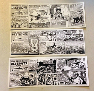 Long Beach-Based Destroyer Fleet Comics