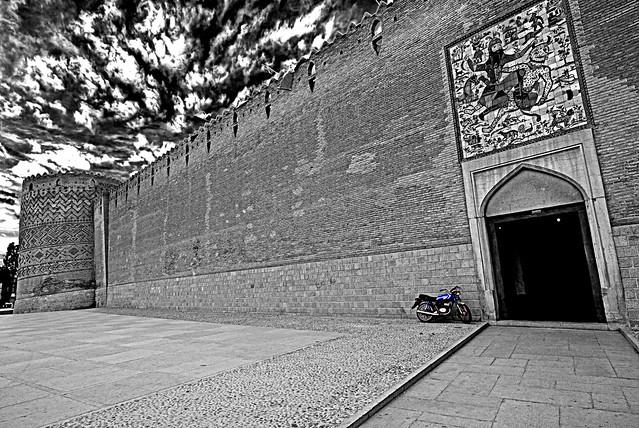 Arg of Karim Khan zand(Entrance)