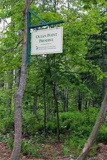 Ocean Point sign