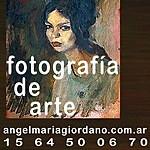 Angel Giordano, Fotografía de Arte