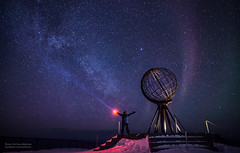 North Cape, Milky way and me