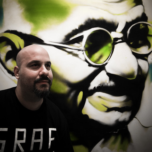 Trek 6 and His Painting of Gandhi