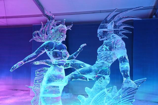 Ice Sculpture in Ottawa