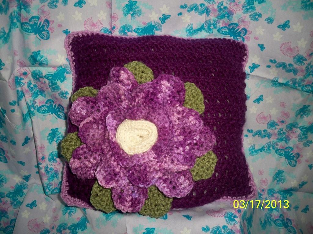 The Crochet Crowd Spring Fling pillow Challenge   Emma Torre…   Flickr