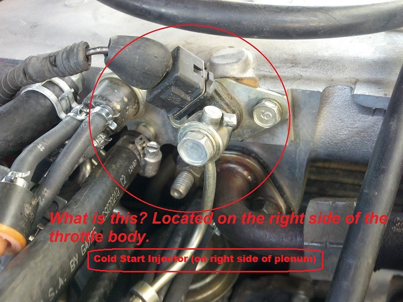 how do i tell if cold start injector is bad - YotaTech Forums