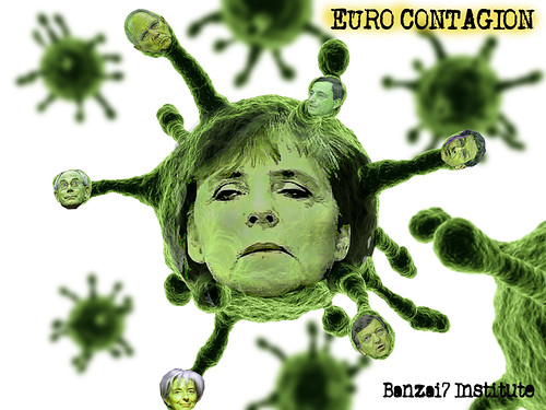 EURO CONTAGION by Colonel Flick/WilliamBanzai7