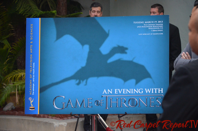 "Evening with ""Game of Thrones"" Red Carpet #PrimetimeEmmys"