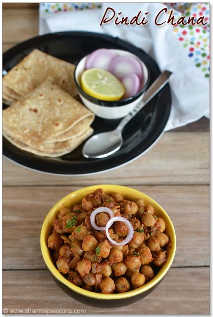Pindi Chole Recipe