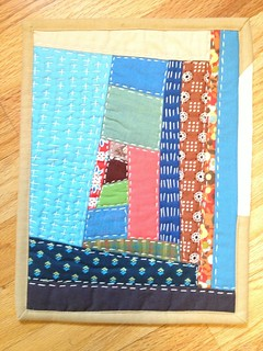AAQI Mini Quilt by Michelle Freedman