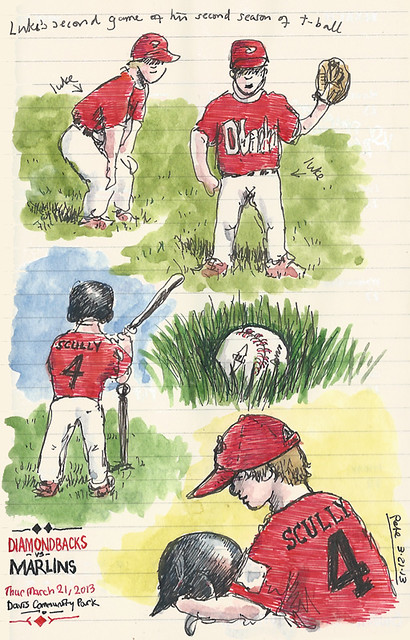 t-ball at the park