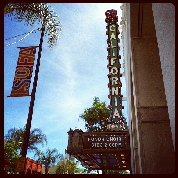 2013 California All-State Honor Choirs at California Theater