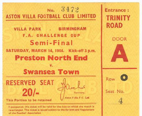Preston North End v Swansea Town