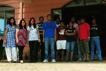 Aruna, Karishma, Ketaki, Sabyasachi, Abhishek, Bernard, Dinesh, Carol, Prashant, Sagnik, Subhadip & Narasimha