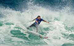 Wildcard Nikki van Dijk scored a huge upset victiory over world No. 1 Tyler Wright in Round 1.