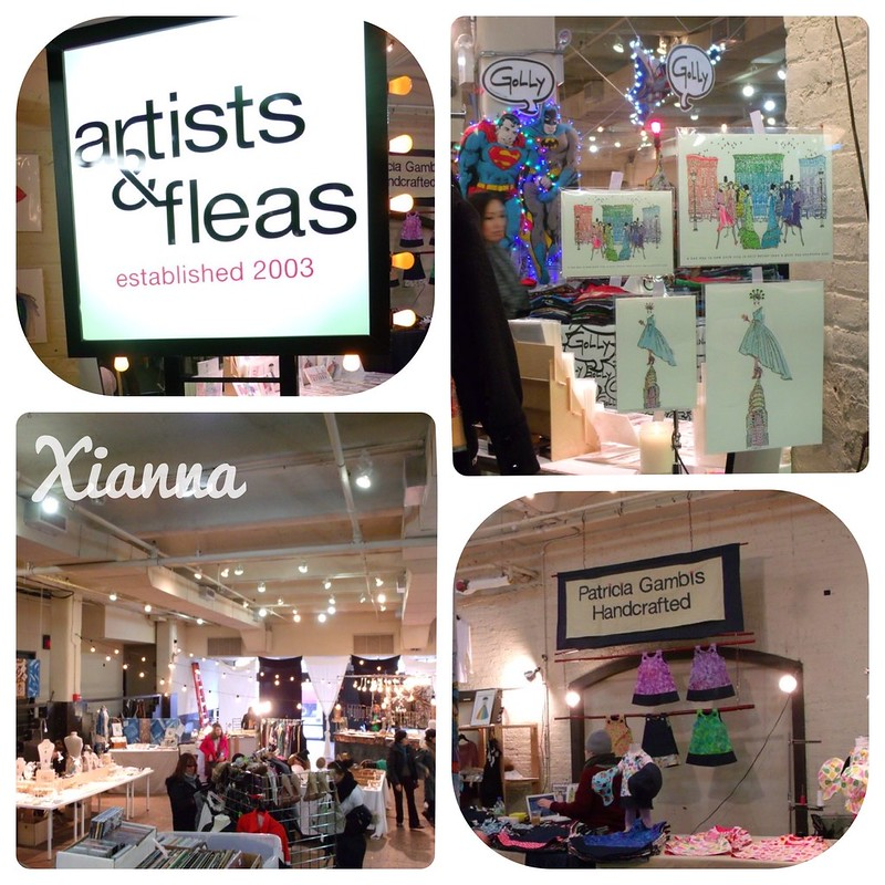 Artists and Fleas at Chelsea Market