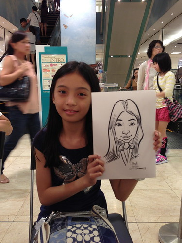 caricature live sketching for Takashimaya Good Friday Special - 12