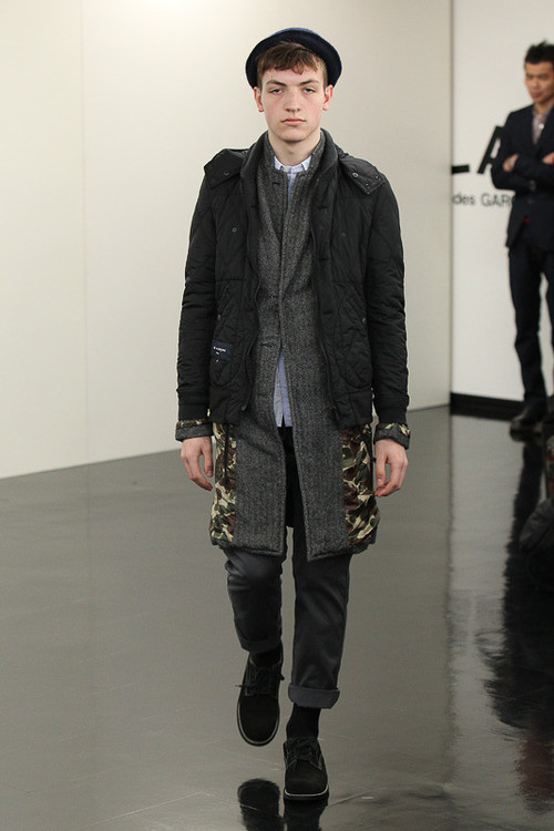 FW13 Tokyo COMME des GARCONS HOMME020_Marcel @ ACTIVA(Fashionsnap)