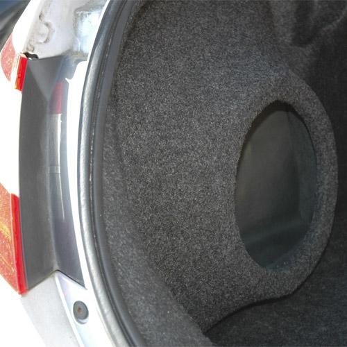2006 2011 Honda Civic Coupe Custom Fiberglass Subwoofer