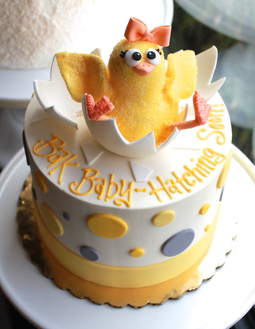 Hatching Chick Cake!