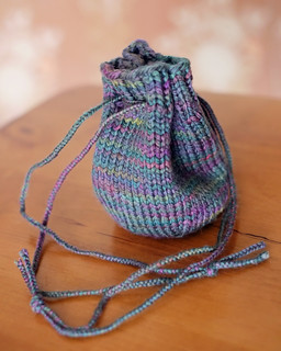 Knitted Treasure Bag