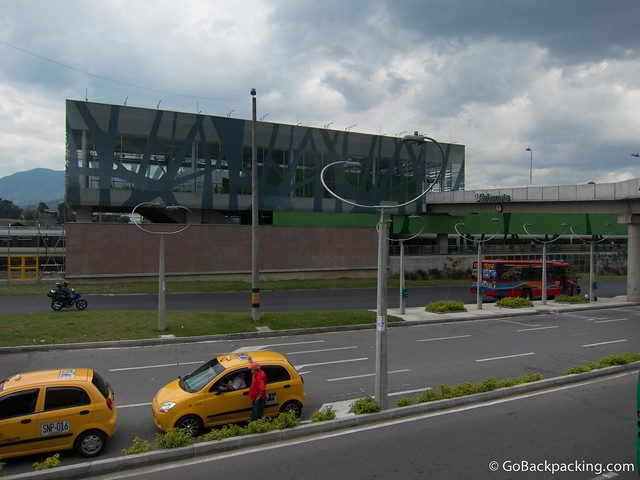 The new Sabaneta metro station