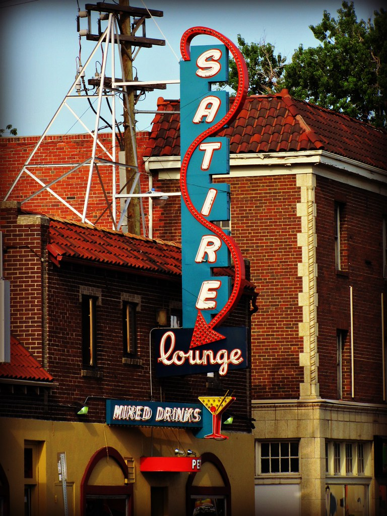 Satire Lounge On Colfax Avenue In Denver Colorado Jimsawthat