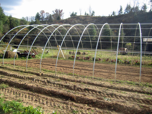 Easy to build, maintain and move, high tunnels provide an energy-efficient way to extend the growing season and provide fresh food for local communities. NRCS photo by Michelle Banks.