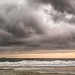 Coronado Island Beach Stormy Sunset by Chris Galando Photo