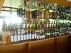 Full Edrington whisky bar