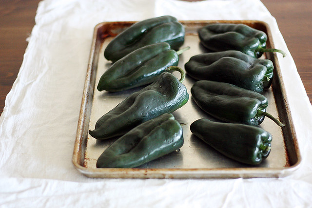 Beer-Battered Bean and Cheese Stuffed Poblano Chiles | Girl Versus ...