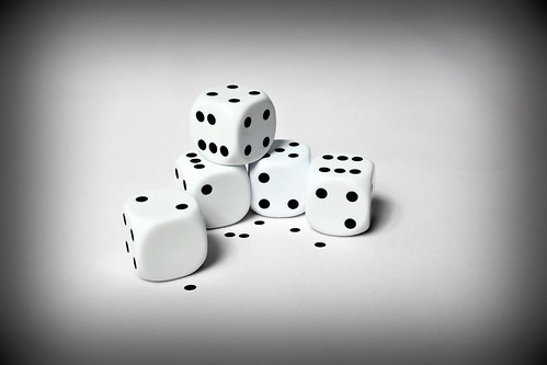Dice - When Your Luck Has Run Out by Simon & His Camera