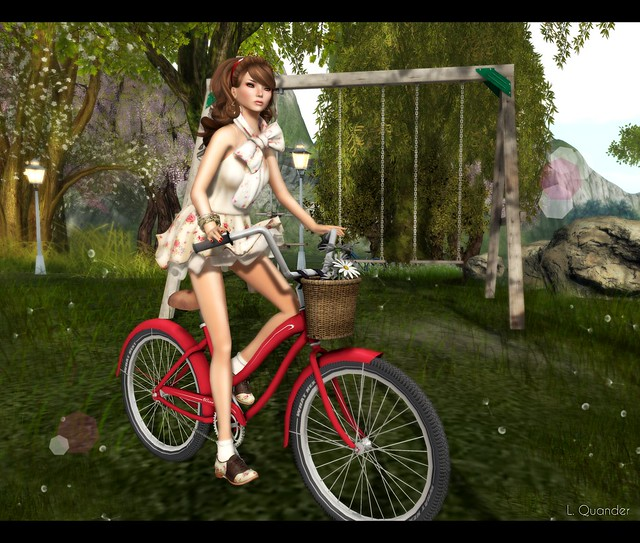 Tee*fy for C88 March and {what next} - Bramley Bicycle Pose Prop for Pose Fair 2013