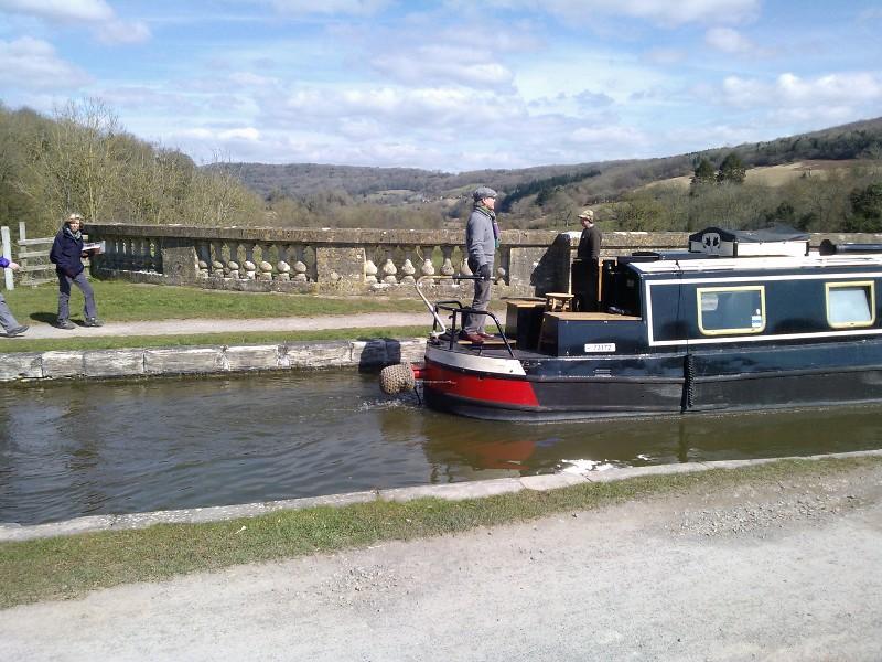 Crossing the Dundas Aqueduct Bath to Bradford-upon-Avon walk