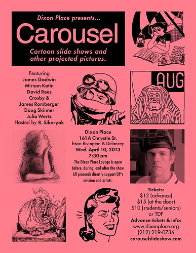 Eflyer for Carousel April, 2013