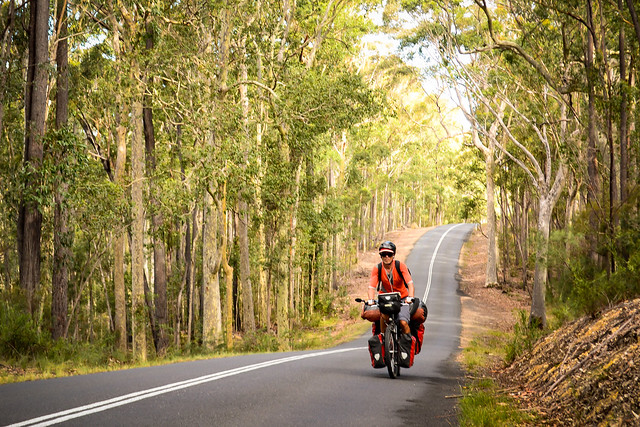 bicycle touring in New South Wales