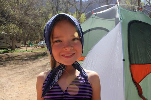camp girl