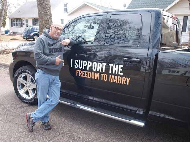 Minnesota Marriage Equality Street Team - Phase 2, Wrap 1