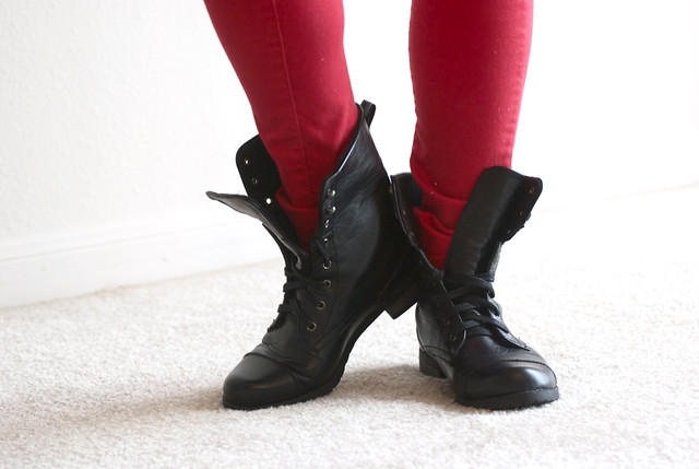 forever-21-combat-boots